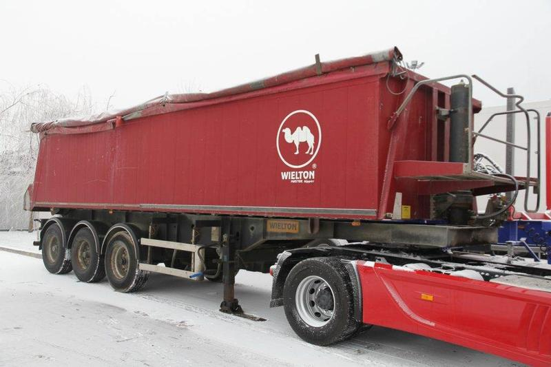 WIELTON TIPPER SEMI-TRAILER NW 33 33 m3