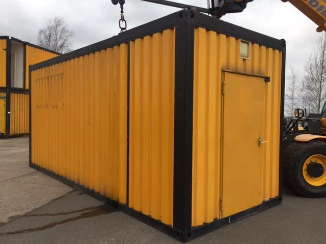 MachinesUp Einzelcontainer/ Wohncontainer/ Bürocontainer
