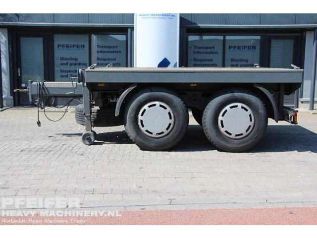 Hilse BAL 18B Central Axle Ballast Trailer