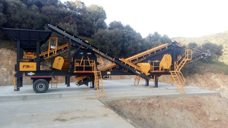 Fabo MOBILE TERTIARY CRUSHING/SCREENING PLANT | HIGH QUALITY
