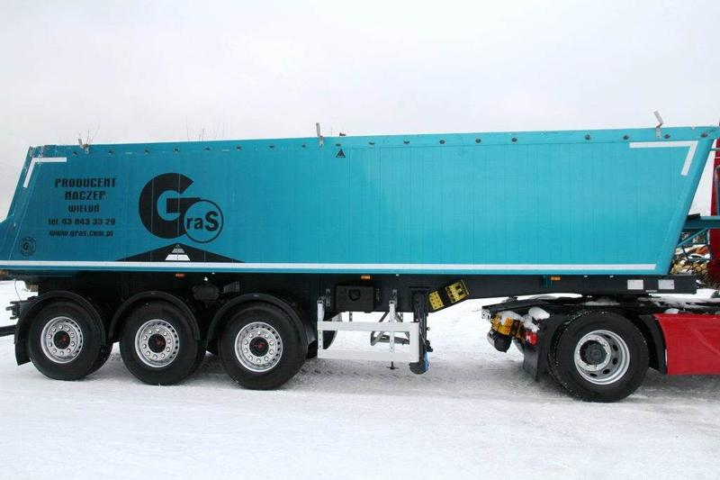 Gras SEMI TRAILER TIPPER GS 30 m3