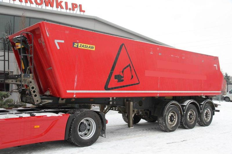 ZASLAW TIPPER SEMI-TRAILER D 653 A 35 m3 2018