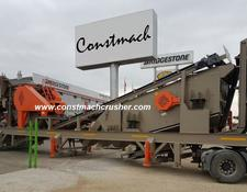 Constmach FULL AUTOMATIC SYSTEM Mobile Jaw + Cone Crusher