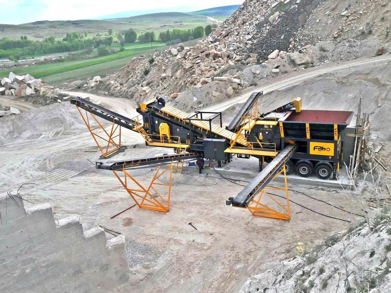 Fabo LIMESTONE/MARBLE CRUSHING AND SCREENING PLANT | EASY MAINTENANCE
