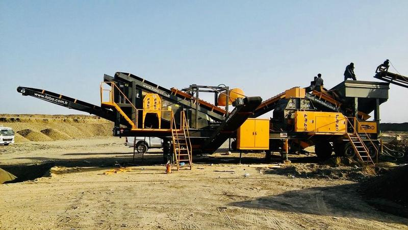 Fabo MTK 100 | MOBILE SAND MAKING MACHINE | HIGH QUALITY EQUIPMENT