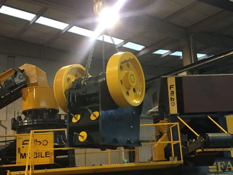 Fabo JAW CRUSHER | HIGH QUALITY CRUSHER | EASY MAINTENANCE