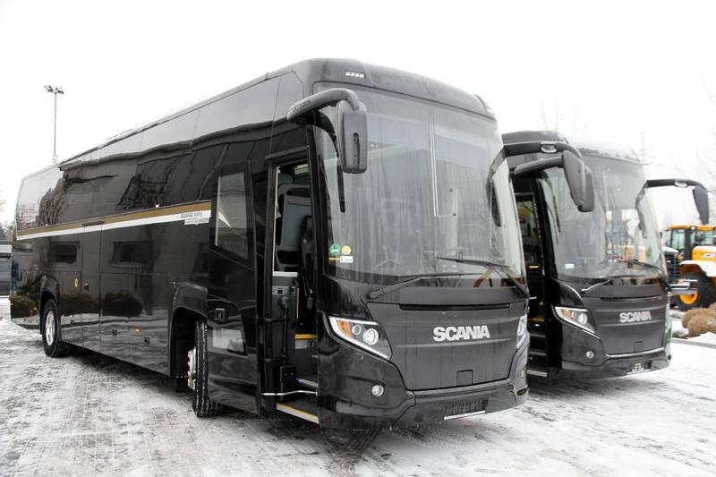 Scania TOURIST BUS / COACH HIGER A-SERIES TOURING HD 51 P
