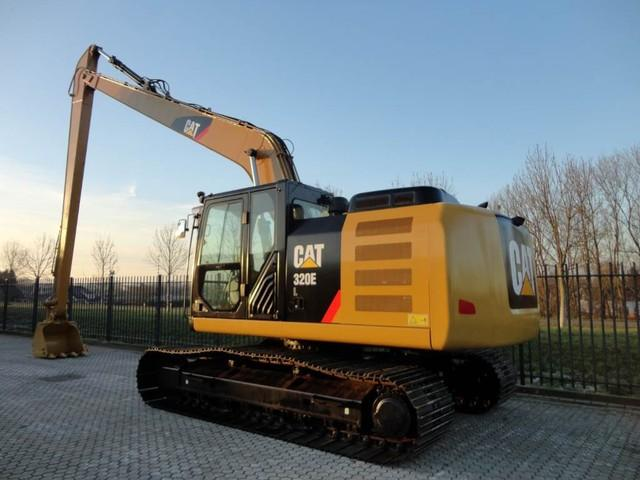 Caterpillar 320EL Long Reach demo with 800 hours