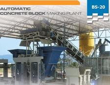 Constmach BS-20 1 - CONCRETE BLOCK MACHINE
