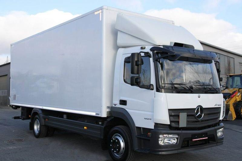 Mercedes-Benz ATEGO 1224 E6 KOFFER CONTAINER BOX 7.2 M 11.9 T GV