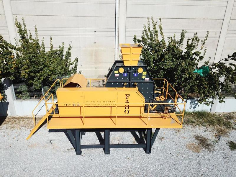 Fabo TK SERIES 70-120 TPH TERTIARY IMPACT CRUSHER | SAND MACHINE