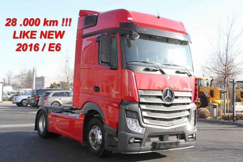 Mercedes-Benz TRACTOR-UNIT ACTROS 1833 E6 28 000 KM ! NEW! DEMO!