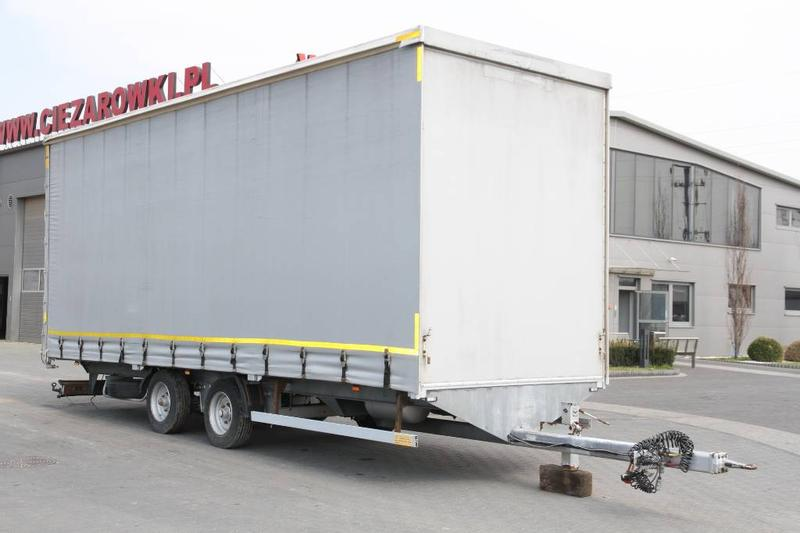 ANB BEDNARCZYK TRAILER PS7/PK1 CURTAINSIDE 6.75 T
