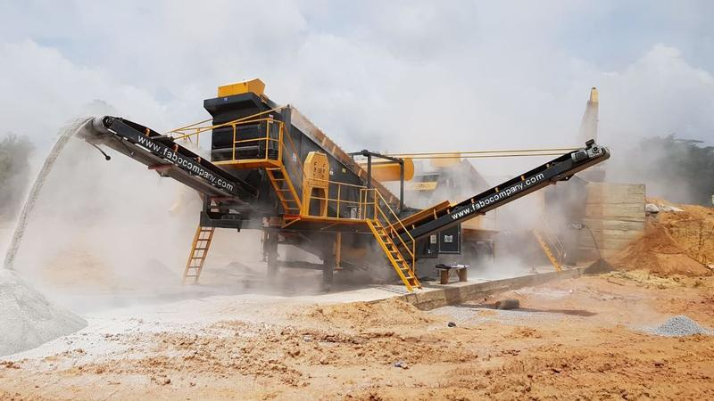 Fabo MOBILE CRUSHING SCREENING PLANT MCK-110| GRANİTE-BASALT