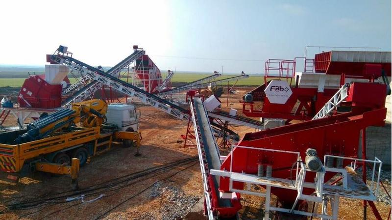 Fabo FIXED STONE CRUSHING AND SCREENIG PLANT | NEW GENERATION EQUIPME