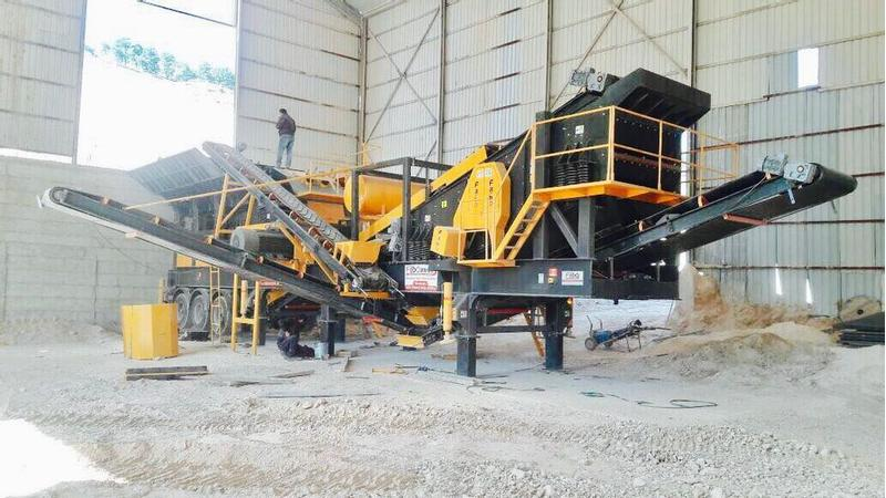 Fabo MARBLE/LIMESTONE CRUSHING AND SCREENING PLANT | EASY INSTALLATIO