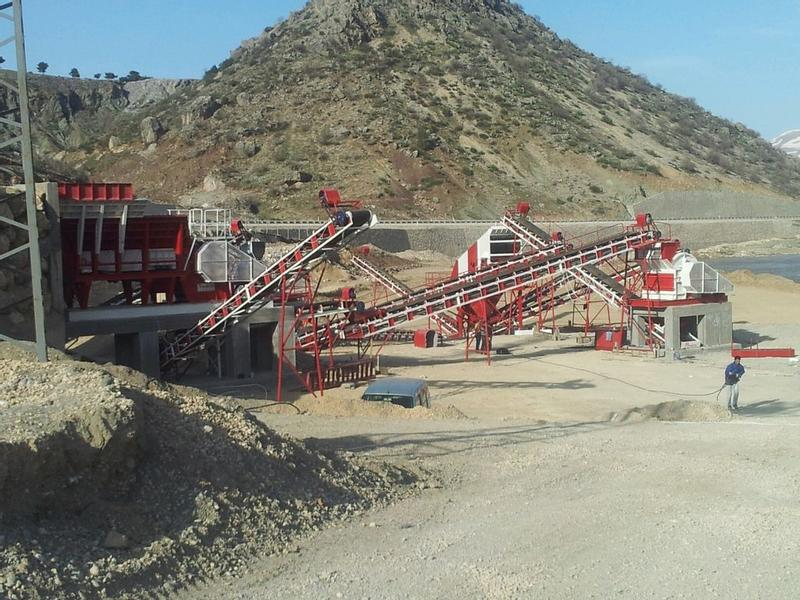 Fabo FIXED CRUSHING AND SCREENING PLANT | HIGH QUALITY | 1 YEAR WARRA