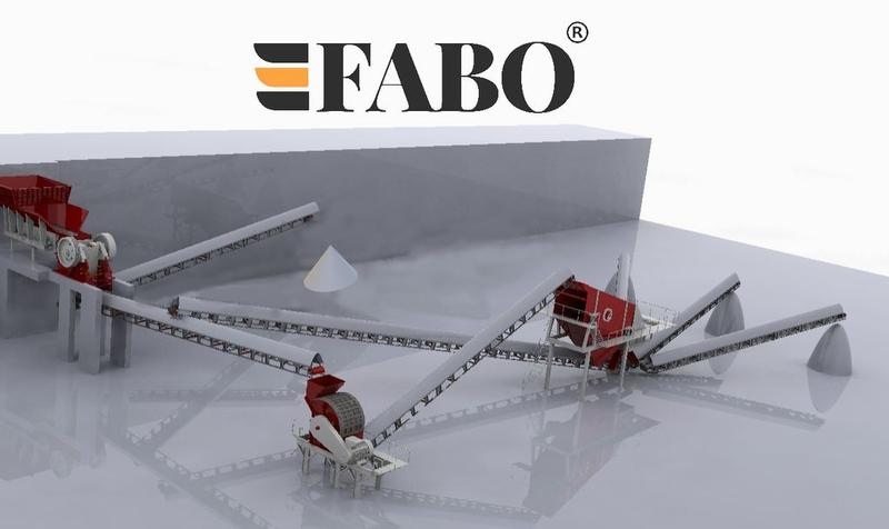 Fabo USED STATIONARY CRUSHING PLANT | AVAILABLE IN PARTS