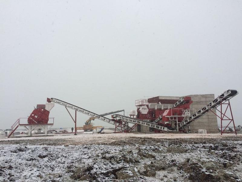 Fabo STATIONARY TYPE 150-250 T/H CRUSHING & SCREENING PLANT