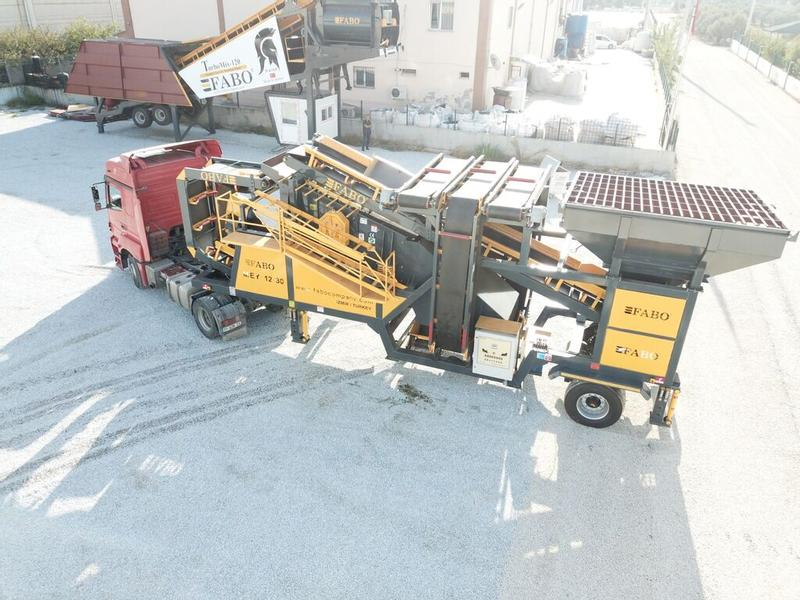 Fabo ME-1230 SERIES MOBILE SAND SCREENING PLANT
