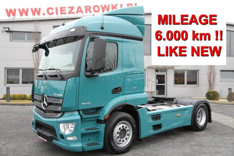 Mercedes-Benz TRACTOR UNIT ACTROS 1843 E6 6 000 KM! NEW!