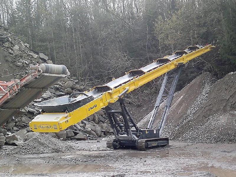 Keestrack 230 Stacker Förderband mobil tracked stockpiling conveyor